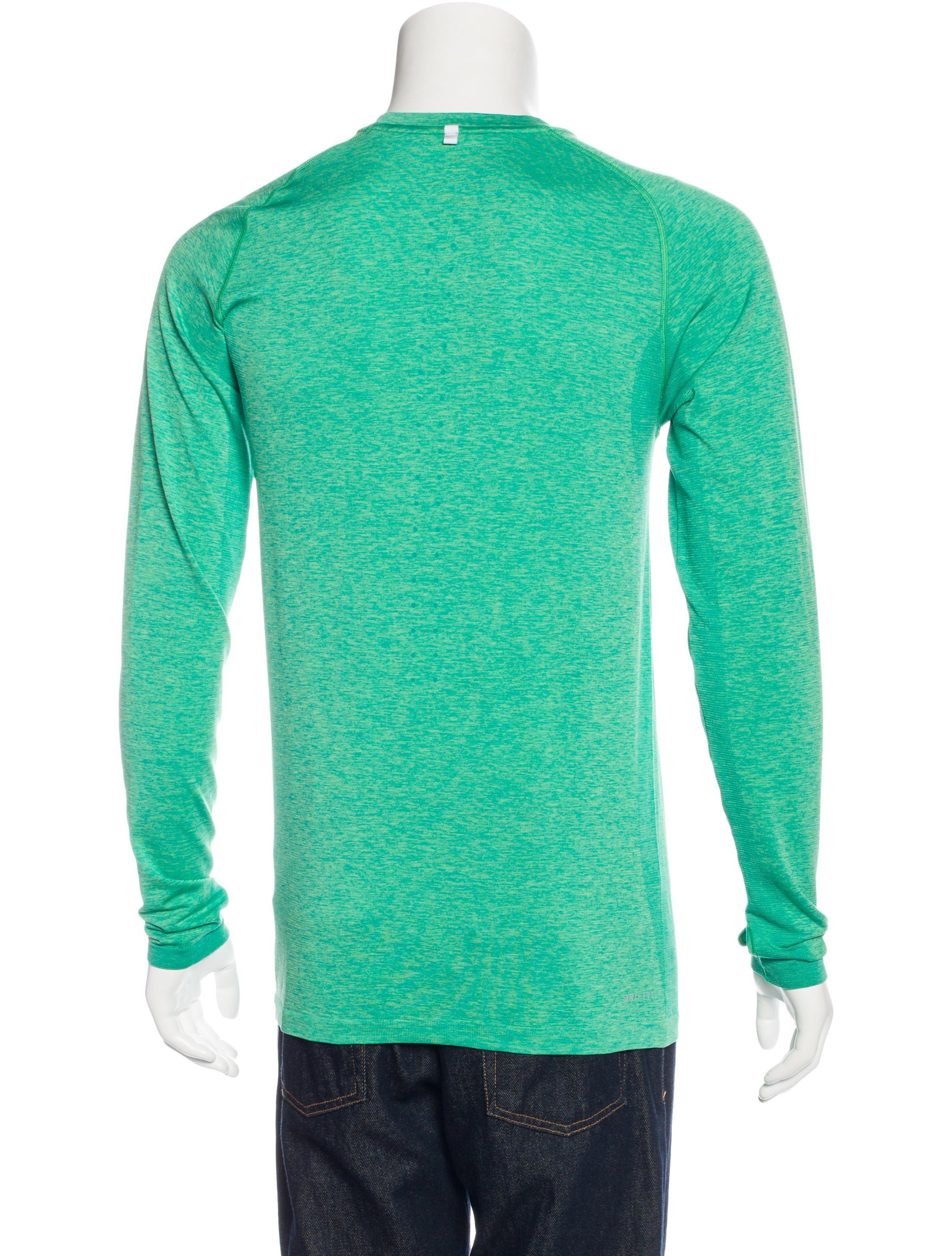 Nike Dri Fit Running T Shirt Clothing Wu221118 The