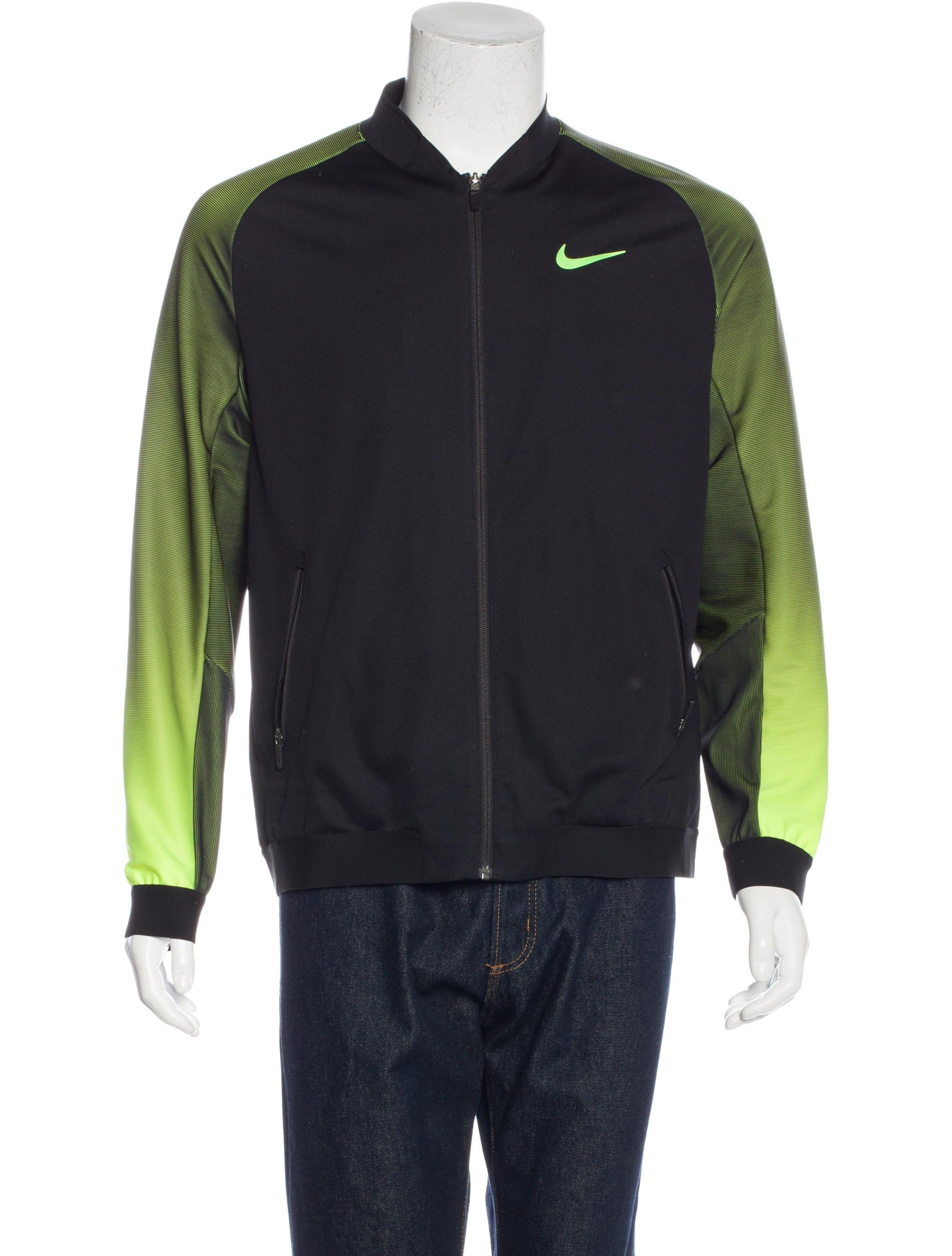 Nike Logo Zip Jacket - Clothing - WU221119 | The RealReal