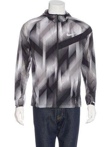 Nike Geometric Print Jacket None