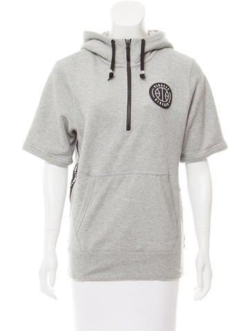 Nike Hooded Short Sleeve Sweatshirt None