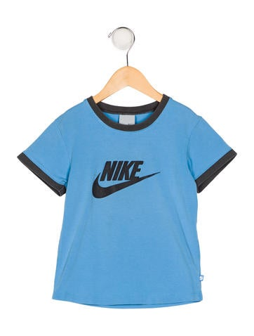 Nike Boys' Logo Short Sleeve T-Shirt None