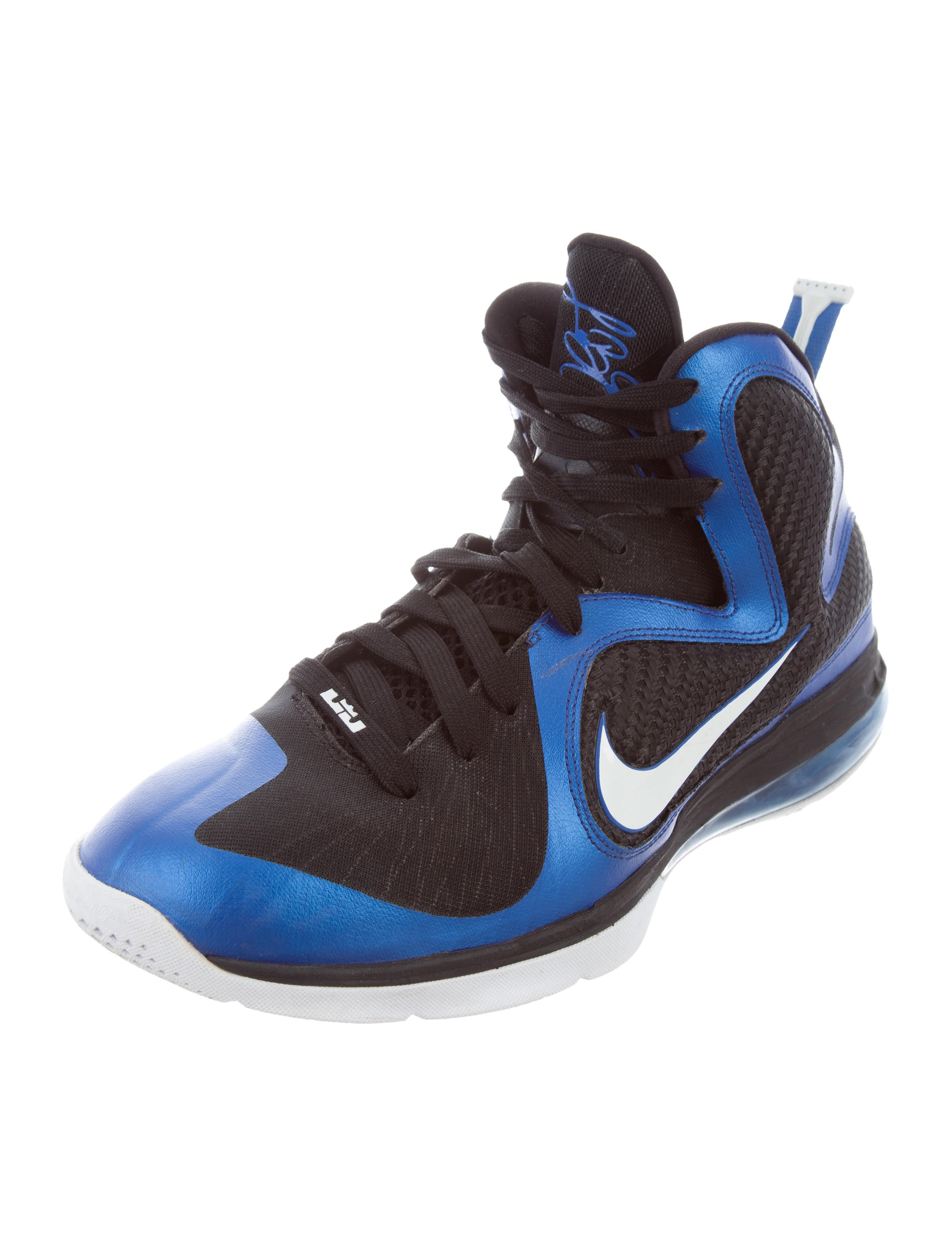 ... LeBron 9 Kentucky Sneakers lebron 9 varsity royalwhite-black kentucky  NIKE ...