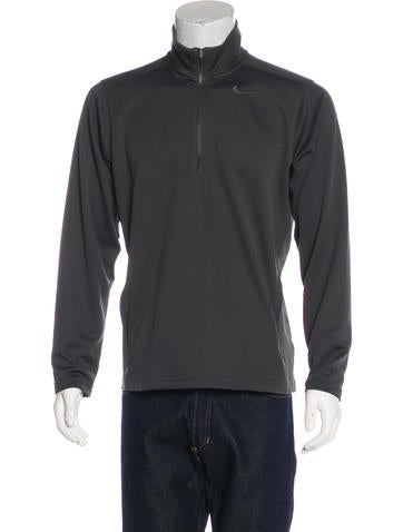 Nike Zip Pullover Sweatshirt None