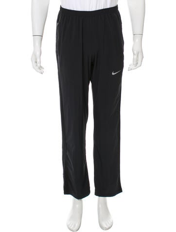 Nike Mesh-Accented Dri-Fit Joggers None