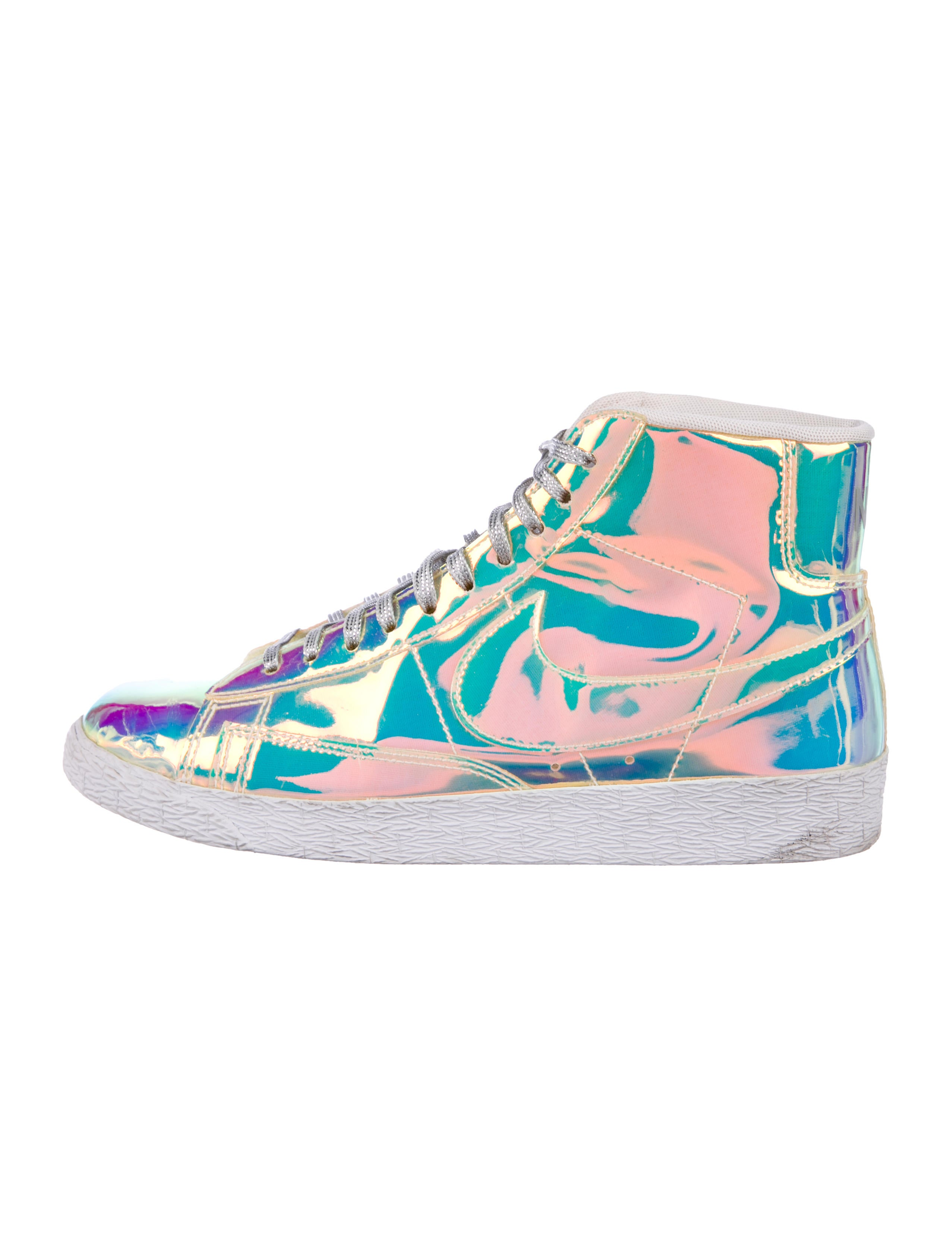Nike Holographic High-Top Sneakers