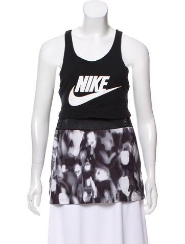 Nike Sleeveless Logo Top None