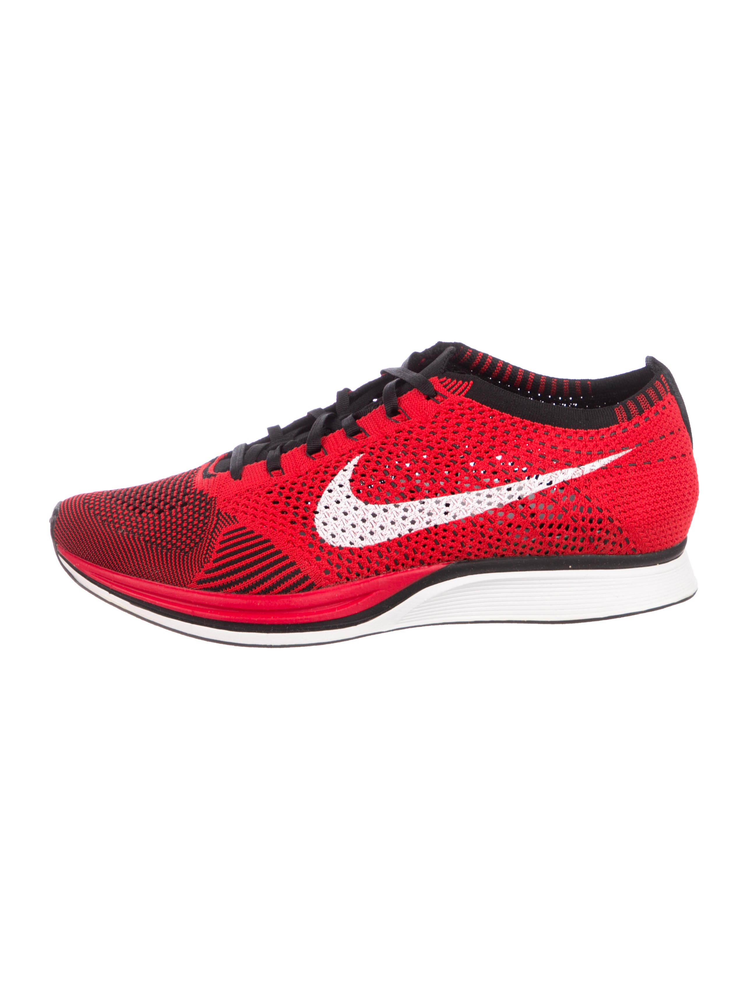 812de11ccee43 Nike Flyknit Racer University Red Sneakers w  Tags - Shoes ...