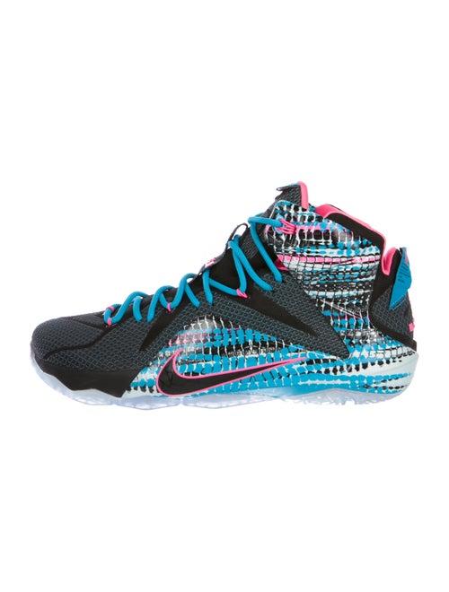 size 40 2ecd0 df619 Nike Lebron 12 23 Chromosomes High-Top Sneakers - Shoes - WU228048 ...