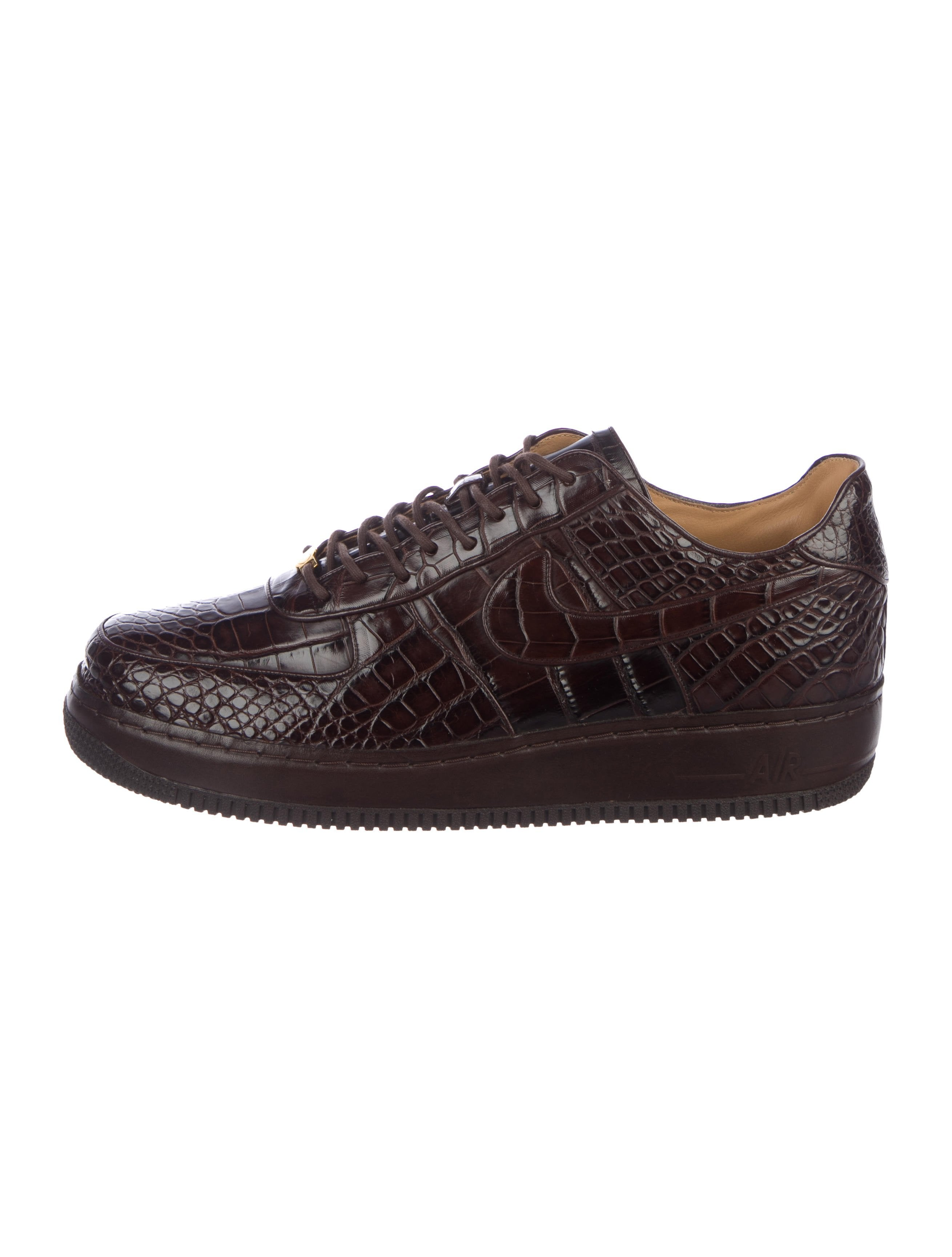 Nike Crocodile Air Force 1 Low Lux 25th Anniversary Sneakers