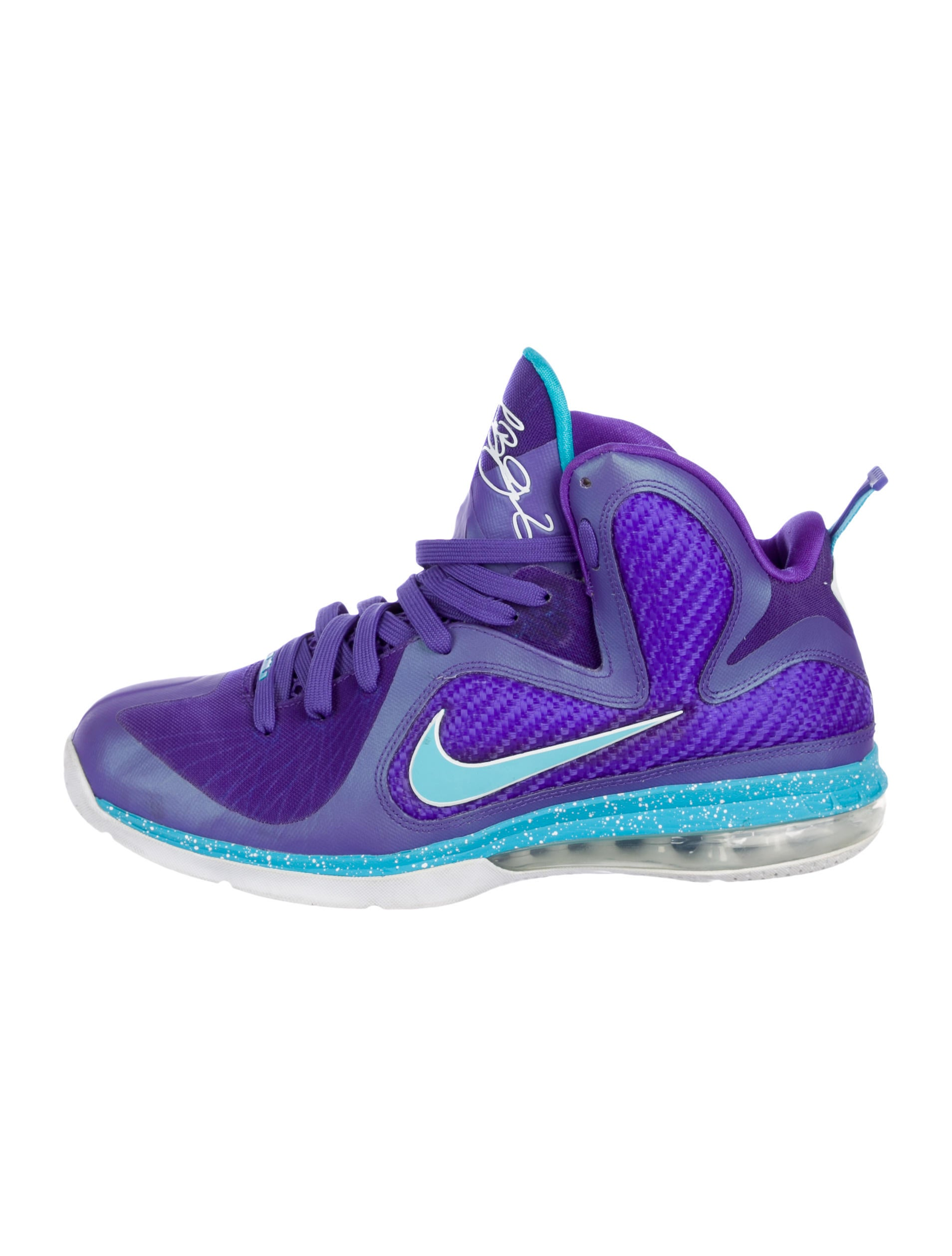 6658f6ea41dd Nike LeBron 9 Summit Lake Hornets Sneakers - Shoes - WU231391