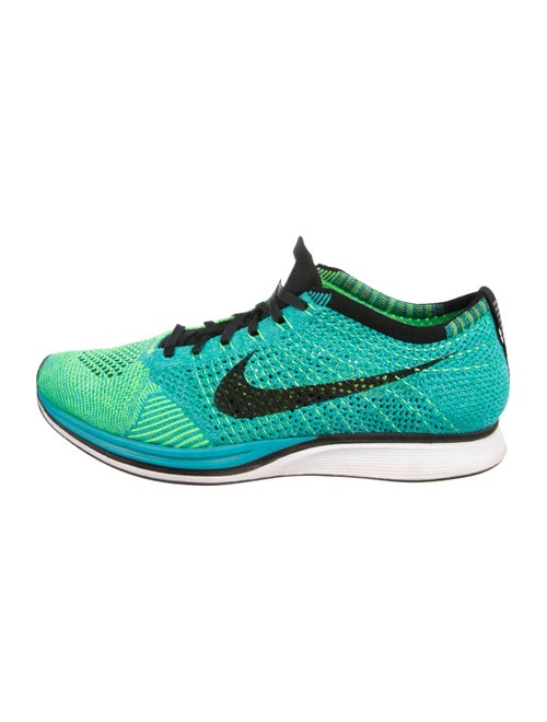 quality design f5efa b3bd0 Nike Flyknit Racer 'Sport Turquoise' Low-Top Sneakers - Shoes ...