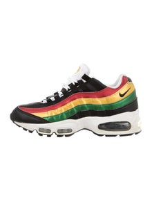 máscara colorante Vulgaridad  Nike Air Max 95 Jamaica Rasta Sneakers - Shoes - WU235107 | The RealReal