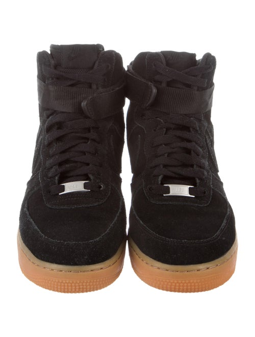 Nike Air Force 1 High Black Suede Gum Shoes Wu239659 The Realreal