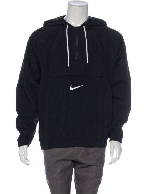 Nike Swoosh Pullover Anorak w/ Tags black