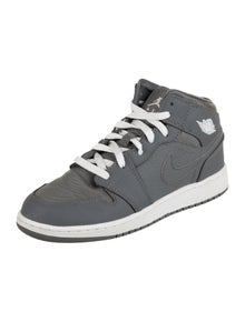 Nike Boys' 1 Mid Cool Grey Sneakers