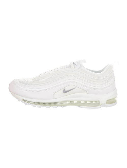 Nike Air Max 97 Triple White Wolf Grey Sneakers W Tags Shoes