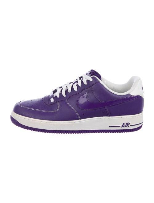 Nike Air Force 1 Court Purple Sneakers Purple