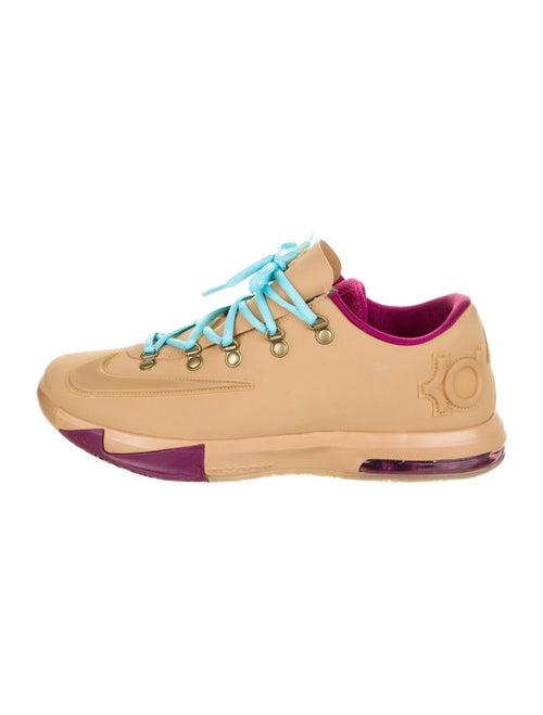 Nike Colorblock Pattern Sneakers Brown