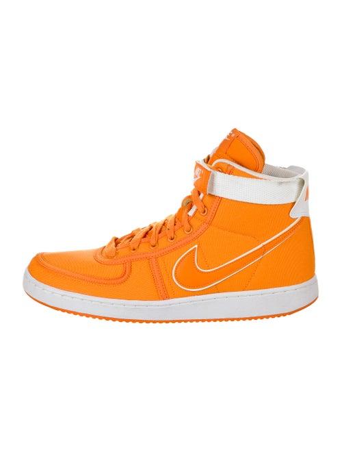 Nike Colorblock Pattern Sneakers Orange