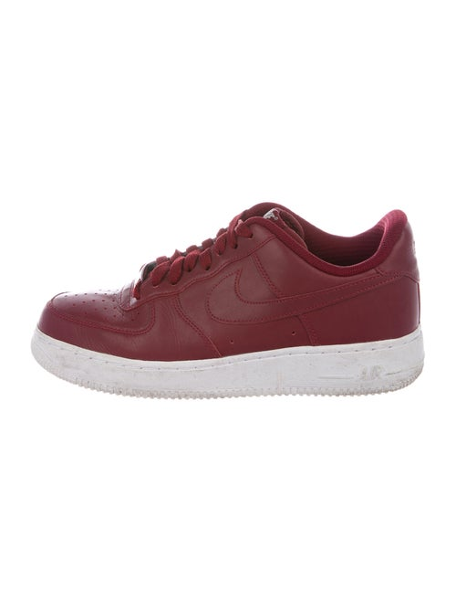 Nike Air Force 1s Sneakers Red