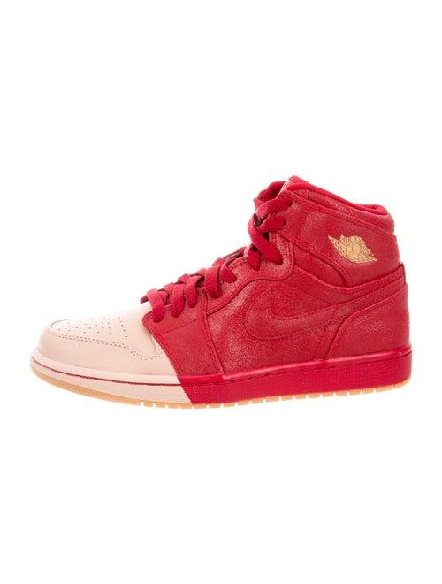 Nike Air Jordan 1 Wedge Sneakers Pink