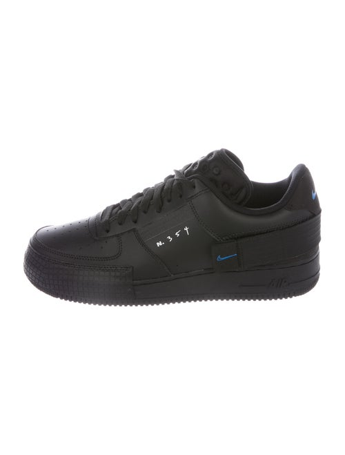 Nike Air Force 1 Type Sneakers Black