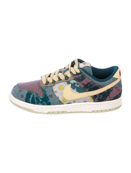 Nike Dunk Low Community Garden Sneakers Blue