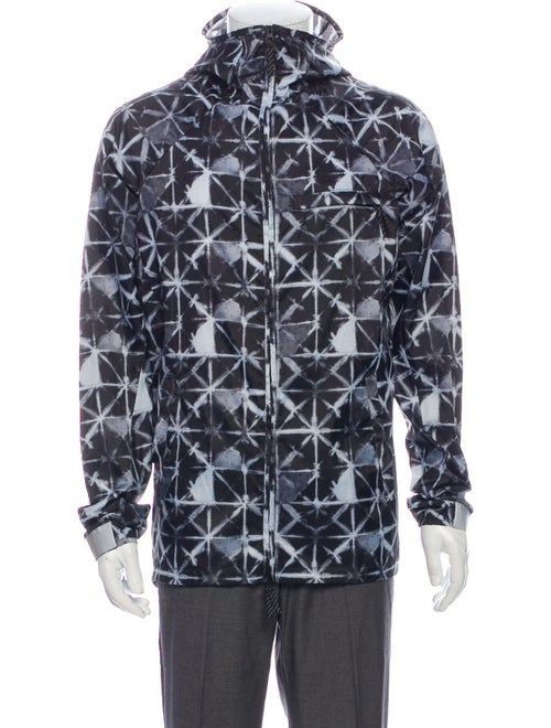 Nike SB Graphic Print Windbreaker Black