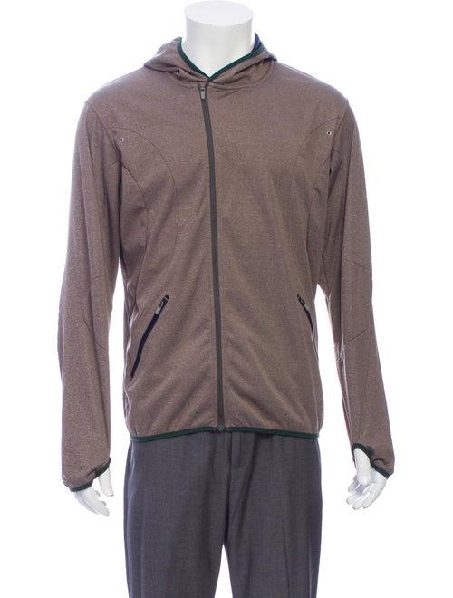 Nike Crew Neck Long Sleeve Hoodie Brown