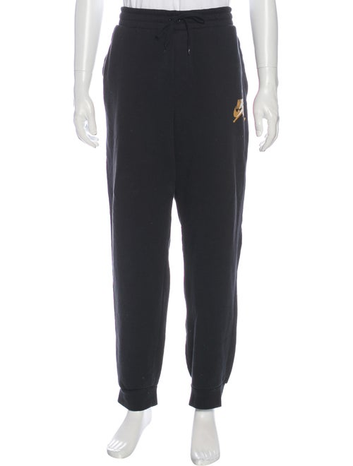Nike Graphic Print Sweatpants Black