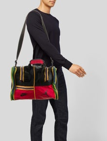 Nike Nylon Logo Duffle Bag