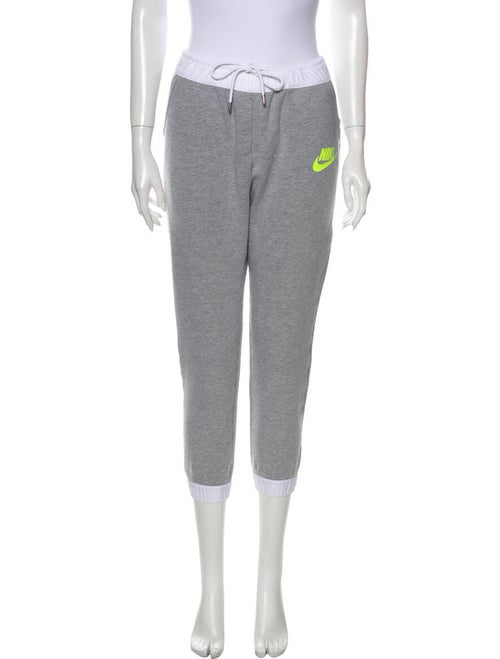Nike Graphic Print Sweatpants Grey