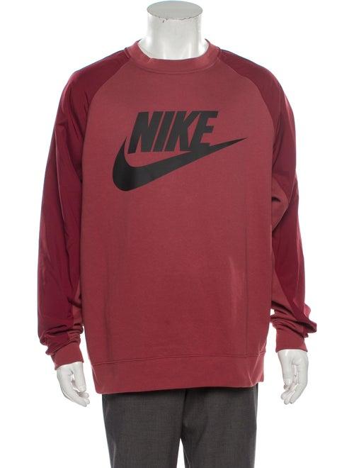 Nike Graphic Print Crew Neck Sweatshirt