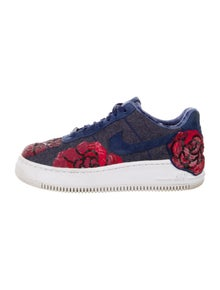 Nike Floral Print Sequin Embellishments Sneakers