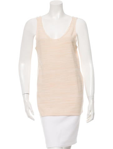 Baja East Sleeveless Knit Top w/ Tags None