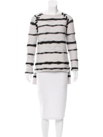 Baja East Striped Cashmere Sweater w/ Tags None