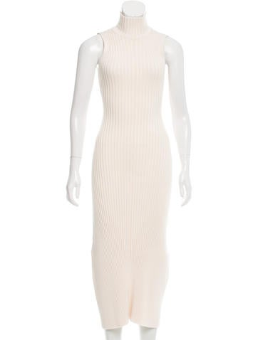 Baja East Rib Knit Maxi Dress w/ Tags None