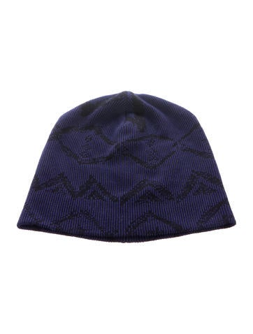 Baja East Embroidered Rib Knit Beanie None