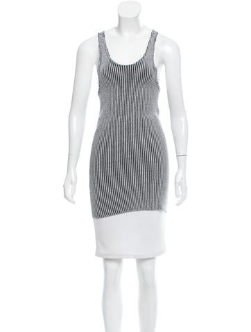 Baja East Sleeveless Ribbed Top None