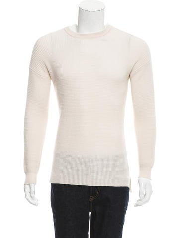 Baja East Waffle Knit Cashmere Sweater w/ Tags None