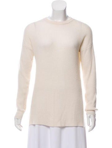 Baja East Cashmere Knit Sweater None