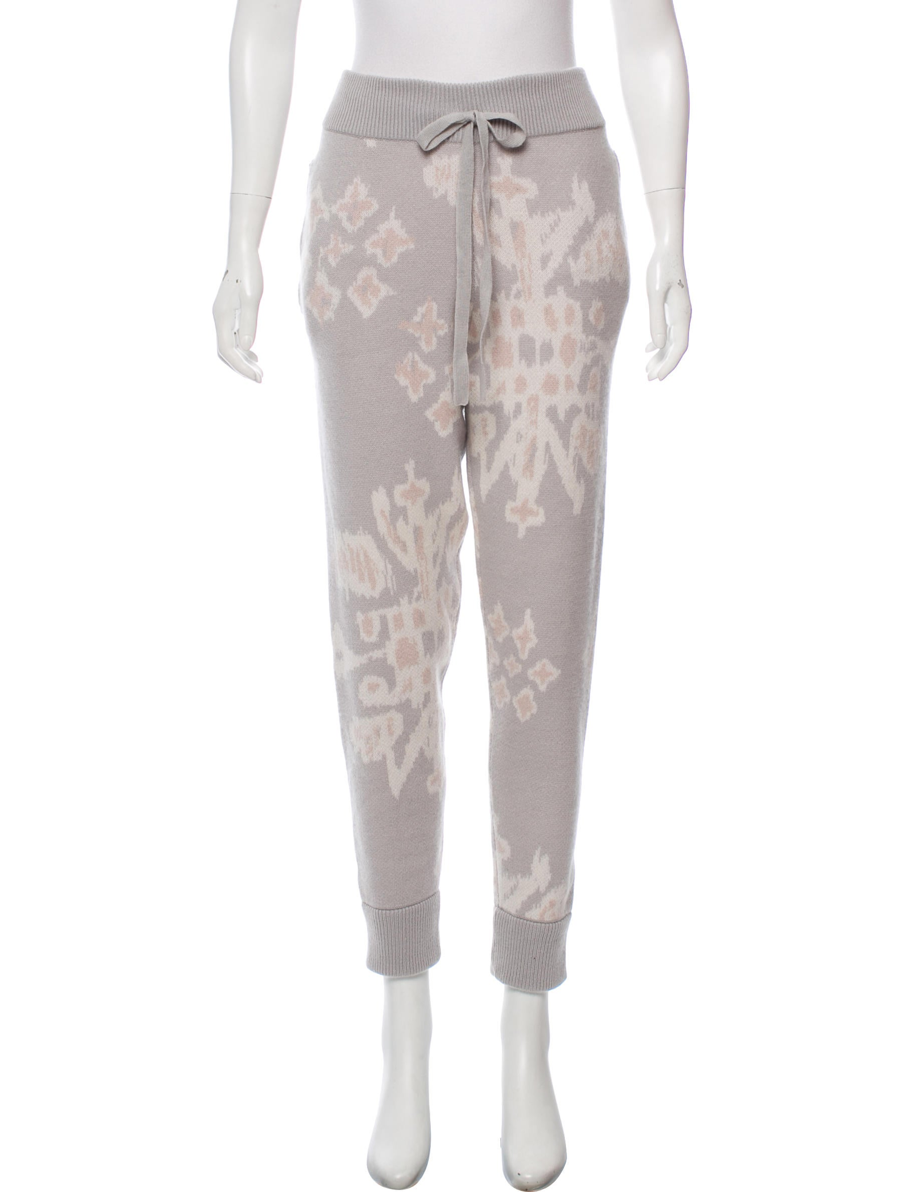 Patterned Joggers Simple Decorating Design
