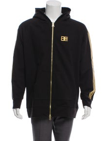 f10a42d87be471 Baja East. Embroidered Sleeve Hoodie