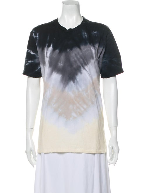 Baja East Tie-Dye Print Crew Neck T-Shirt