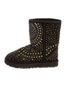 1fad71a8a60 Jimmy Choo   UGG. Suede Studded Boots