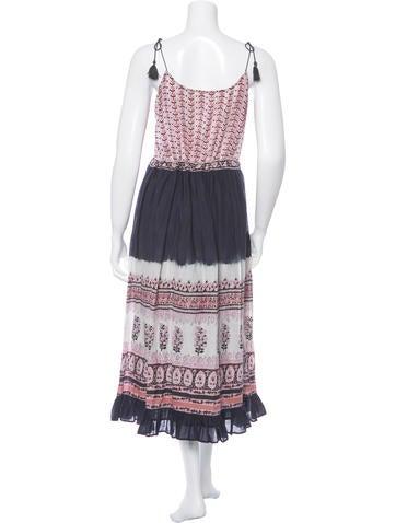Printed Spring 2016 Maxi Dress