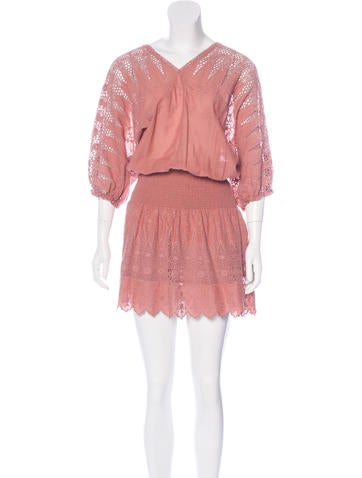Ulla Johnson Samira Embroidered Dress