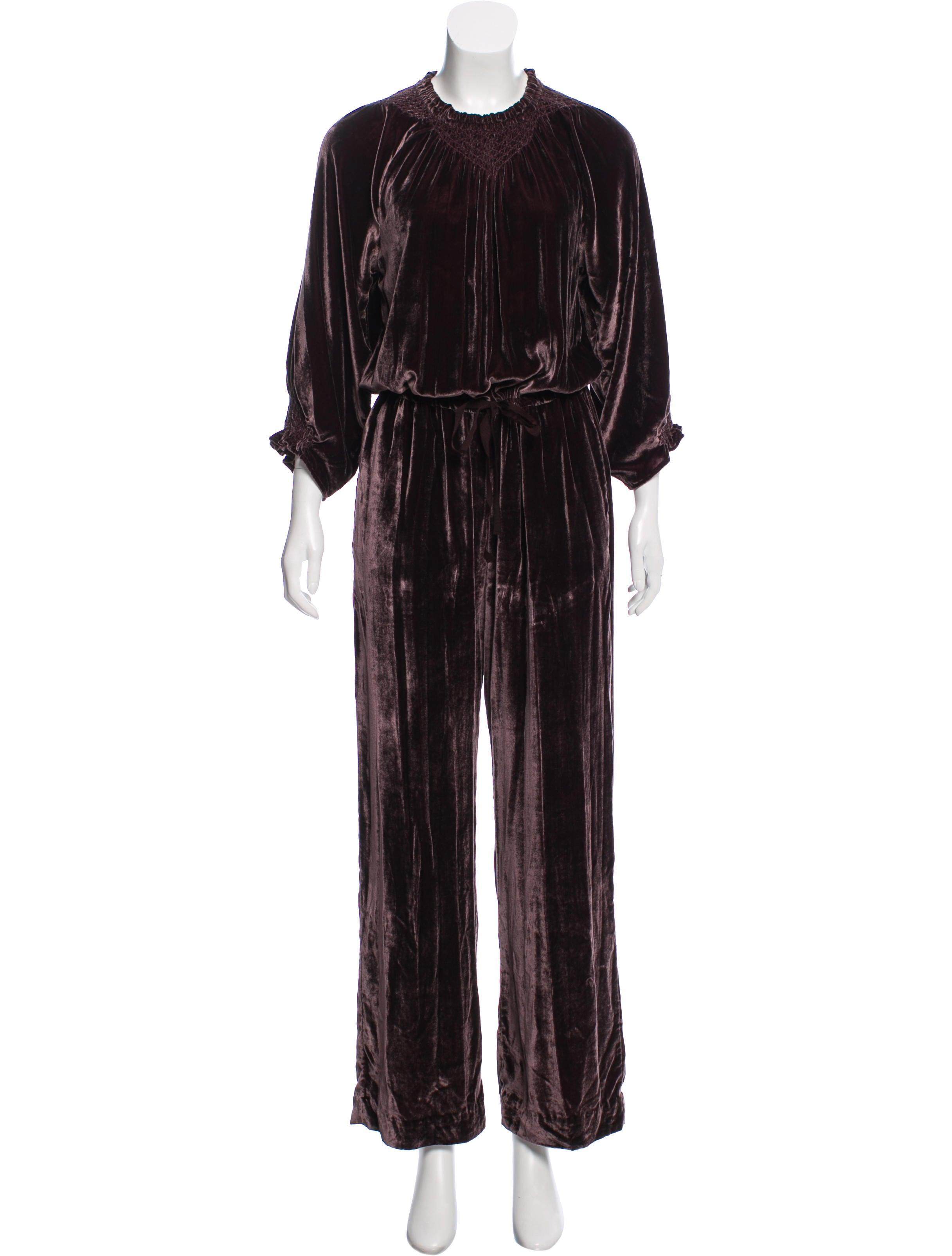 ac9cf012f91 Women · Clothing  Ulla Johnson Velvet Wide-Leg Jumpsuit. Velvet Wide-Leg  Jumpsuit