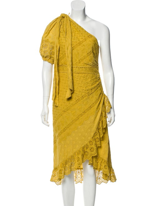Ulla Johnson Eyelet Midi Dress